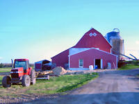 Tour the Kling Family Farm, a working dairy farm